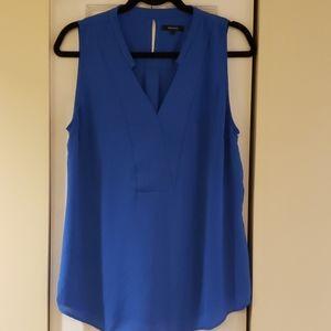 RW&CO Sleeveless silky crepe blouse